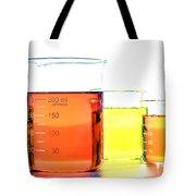 Scientific Beakers In Science Research Lab Tote Bag