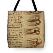 Scientific Diagrams Tote Bag