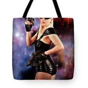 Scifi Heroine Tote Bag
