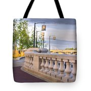 Scioto Mile 29123 Tote Bag by Brian Gryphon