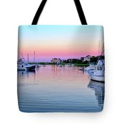 Scituate Harbor Sunset Tote Bag