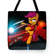 Scootaloo The Protester Tote Bag