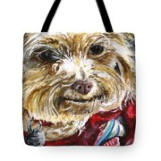 Scooter From Muttville Tote Bag