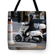 Scooter Girl Paris 1 Tote Bag