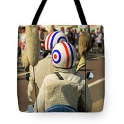 Scooter Mods And Helmets Tote Bag
