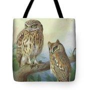 Scops Owl By Thorburn Tote Bag
