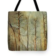 Scorched Forest Tote Bag