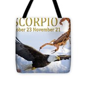 Scorpio Astrology Art Tote Bag