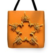 Scorpio Star Sign Tote Bag