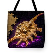 Scorpion Shell Puzzle Tote Bag