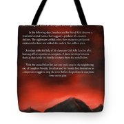 Scorpions Back Cover Tote Bag