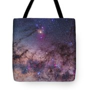 Scorpius With Parts Of Lupus And Ara Tote Bag