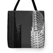 Scotia Plaza And One King West Tote Bag