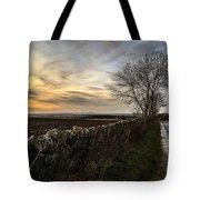 Scotland At Sunset Tote Bag