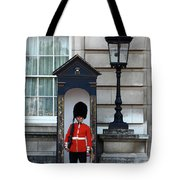 Scots Guard Buckingham Palace Tote Bag