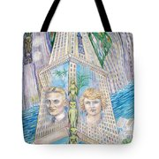 Scott And Zelda In Their New York Dream Tower Tote Bag