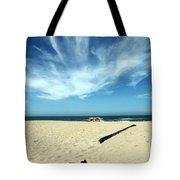 Scott Creek Beach California Usa Tote Bag