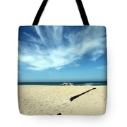 Scott Creek Beach California Usa Tote Bag