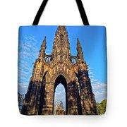 Scott Monument, Edinburgh, Scotland Tote Bag