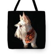 Scottie Pose Tote Bag