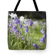 Scottish Bluebells Tote Bag