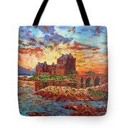 Scottish Castle - Eilean Donan Tote Bag