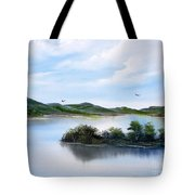 Scottish Highlands Tote Bag