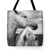 Scottish Horses Tote Bag
