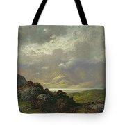 Scottish Landscape Tote Bag by Gustave Dore