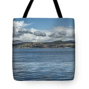 Scottish Panorama Over The River Clyde Tote Bag