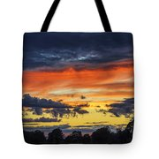 Scottish Sunset Tote Bag