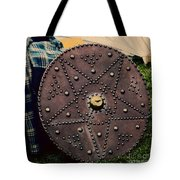 Scottish Targe Tote Bag