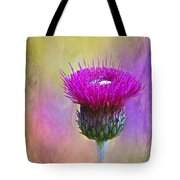 Scottish Thistle Tote Bag