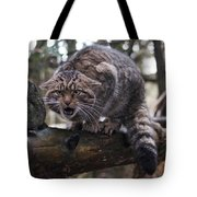 Scottish Wildcat Tote Bag