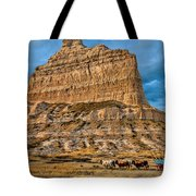 Scotts Bluff National Monument Tote Bag
