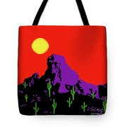 Scottsdale Mountain Tote Bag