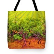 Scraggly On The Edge Tote Bag