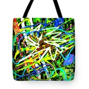 Scramble #e Tote Bag
