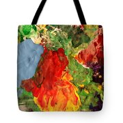 Scramble  Tote Bag