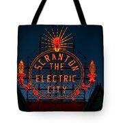 Scranton - The Electric City Tote Bag