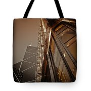 Scraping The Sky Tote Bag
