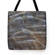 Scratched Metal Tote Bag
