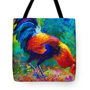 Scratchin' Rooster Tote Bag