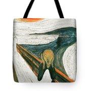 Scream A Bunch Digital Tote Bag