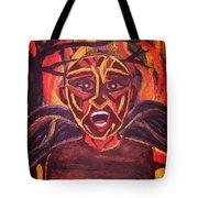 Screaming Demon Tote Bag