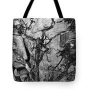Screaming Statue Tote Bag
