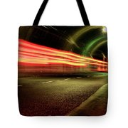 Screaming Tunnel Tote Bag