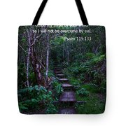 Scriture And Picture Psalm 119 133 Tote Bag