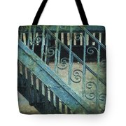 Scrolled Staircase By H H Photography Of Florida Tote Bag