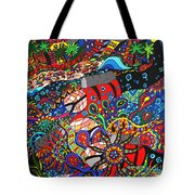 Scuba Down Under Tote Bag